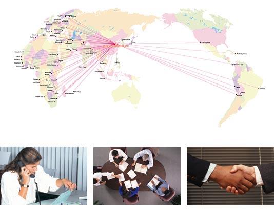 DLJ WORLDWIDE LOGISTICS==Business scope